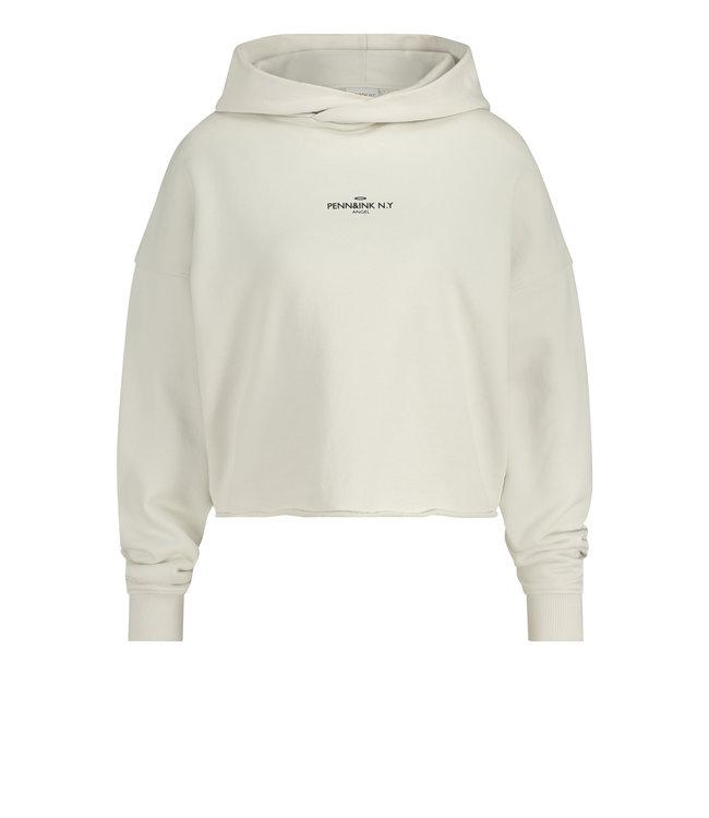 PENN&INK S21T564-foggyblack  Sweater print