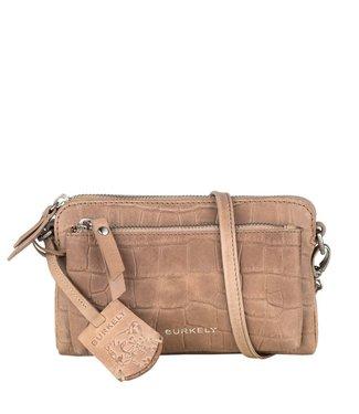 Burkely 1000078.29.25  Croco Caia minibag taupe