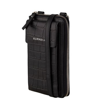 Burkely 1000077.29.10 Croco Caja phone bag black