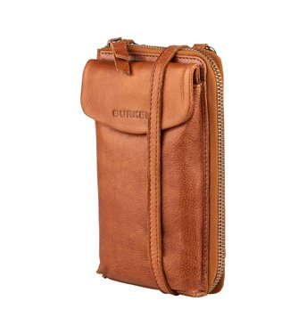 Burkely 1000036.84.24  Just Jackie phone wallet cognac