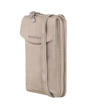 Burkely 1000036.84.15  Just Jackie phone wallet light grey