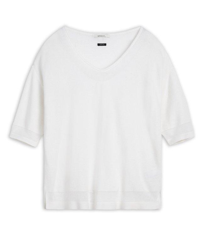 Sandwich 21001608 Knit Pure White