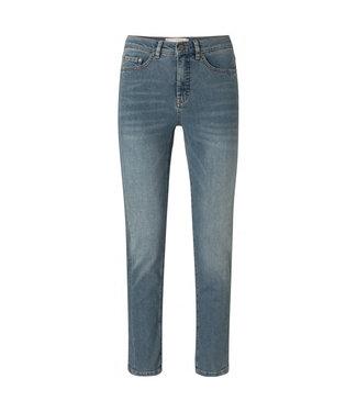 YAYA 1201127-112-BlueDenim  High waist straight denim