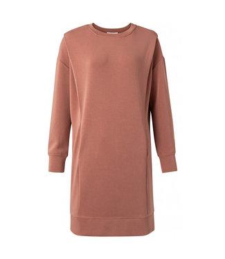 YAYA 1809308-111  Dress with pleats on shoulders