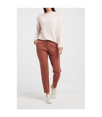 YAYA 1009404-111-rosedawn Brushed boatneck sweater