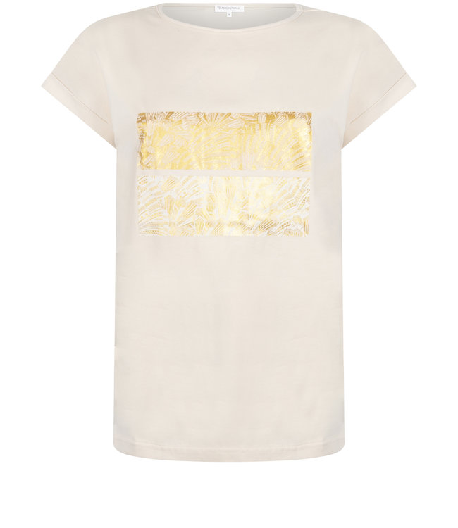 Tramontana Q26-98-403 T-Shirt Foil Artwork Champagne