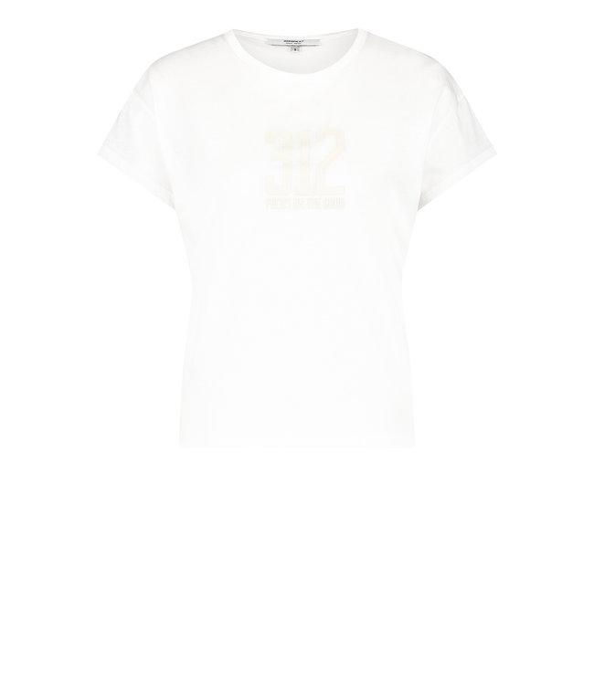 PENN&INK S21T555-whitepelican  T-shirt print