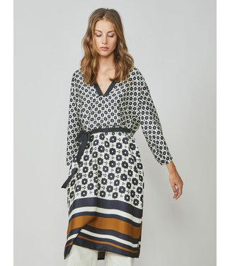 Summum Woman 5s1253-11372  Dress striped border