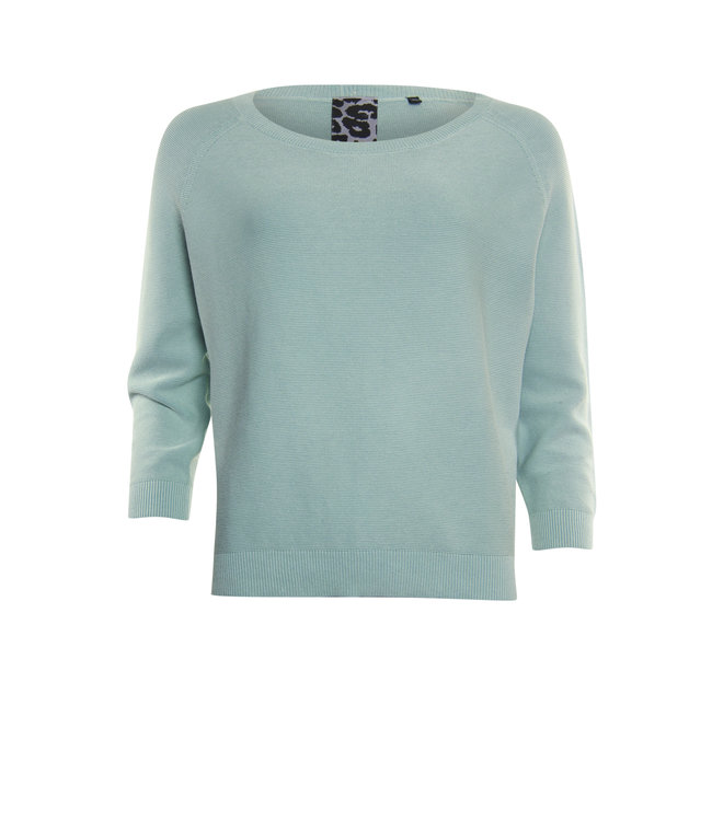 Poools 113145 Pullover Misty green