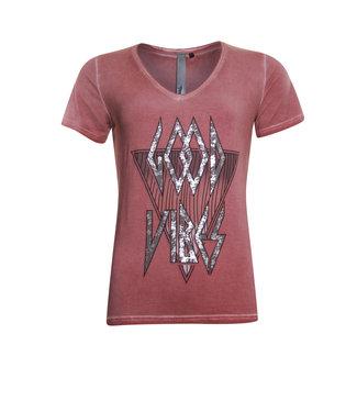 Poools 113149 T-shirt vibes Terra