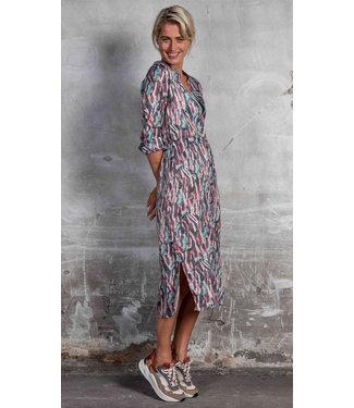 Poools 113158 Dress print Aquarel print