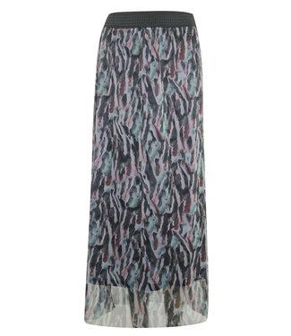 Poools 113168 Skirt mesh Aquarel print