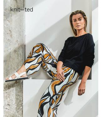 KNIT-TED essentials 211P84 Marielle Caramel Prt