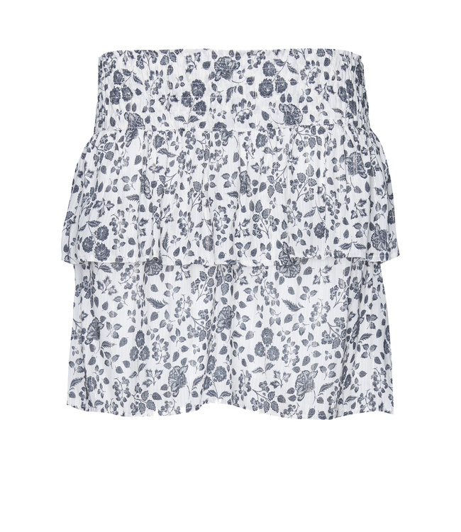 Les Favorites 4553117  Isabel ruches skirt soft white