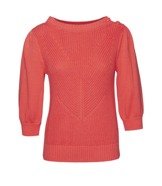 Les Favorites 8553134  Scottie cotton sweat coral