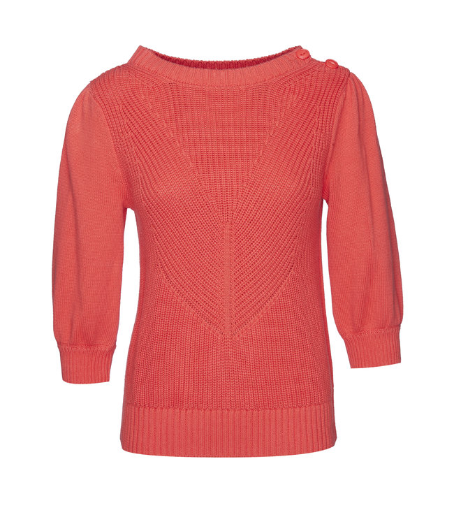 Les Favorites 8553134  Scottie cotton sweat coral