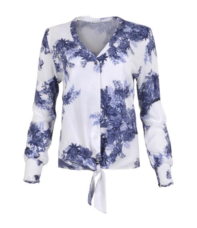 MAICAZZ SP21.20.002-LeafBlue  NAJIMA blouse