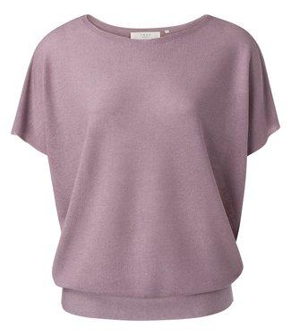 YAYA 1000422-113  Silk blend sweater lilac