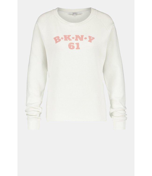 PENN&INK S21F895-barelyterracotta  Sweater print