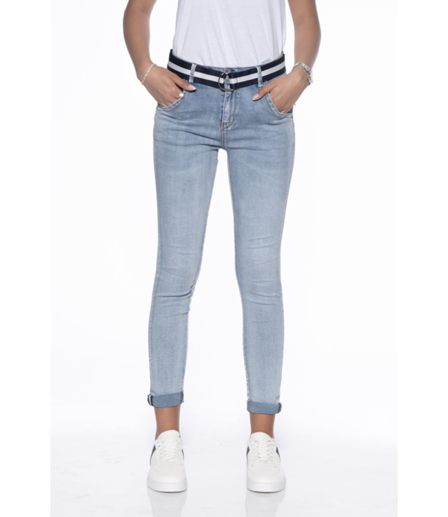Bianco jeans 1118406  Azurite light blue jeans