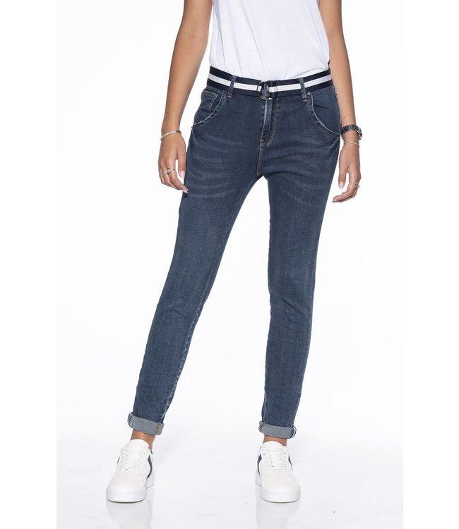 Bianco jeans 1118406-Azurite dark blue jeans