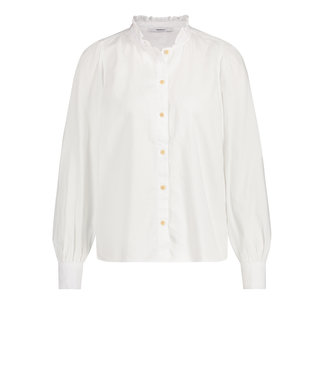 PENN&INK S21W312-white  Blouse