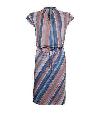 Poools 113240 Dress travel Stripe print