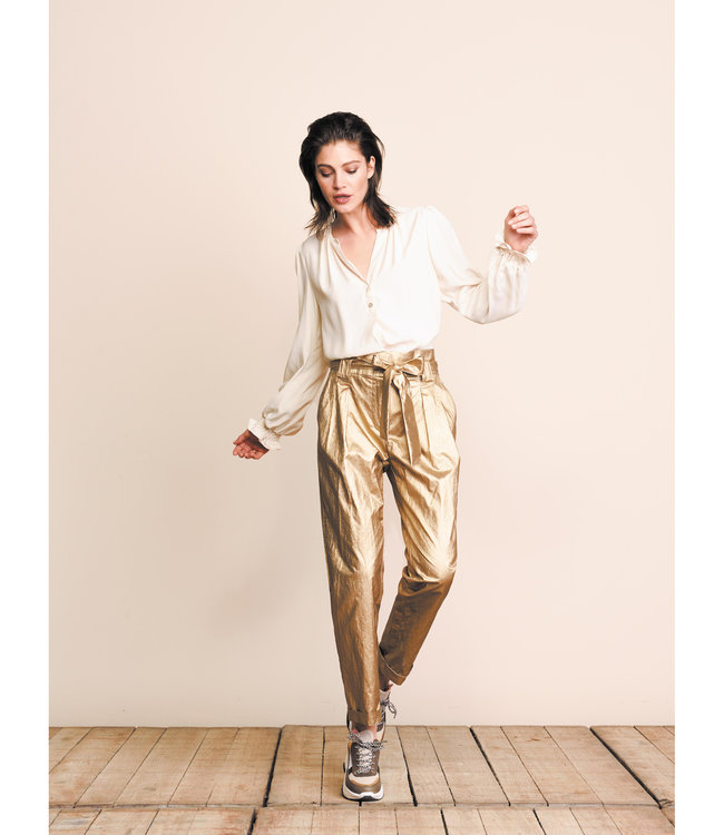 Summum Woman 4s2069-11316  Trousers gold coated