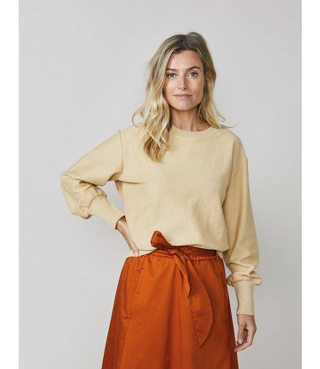 Summum Woman 3s4513-30233  Sweater reverse coatted sweat