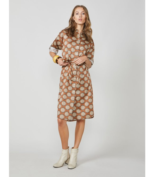 Summum Woman 2s2556-11385  Tunic big dots cotton