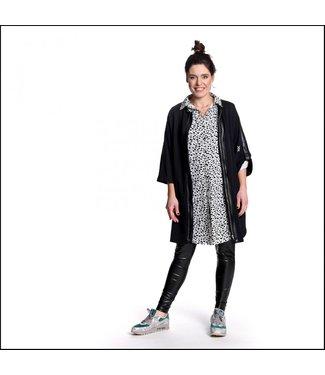 Sneakerdress 21SS017 Long sweat jacket black