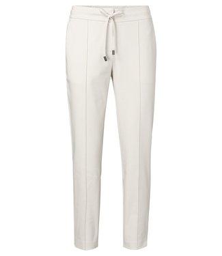 YAYA 121955-014 Jersey tailored trousers Pebble