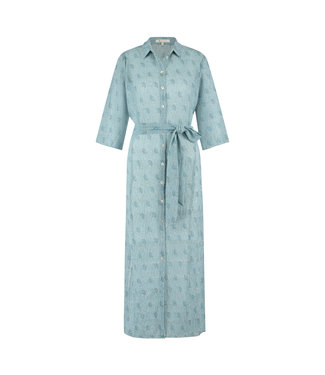 NUKUS SS21121727 Claudy Print Dress Baby Blue