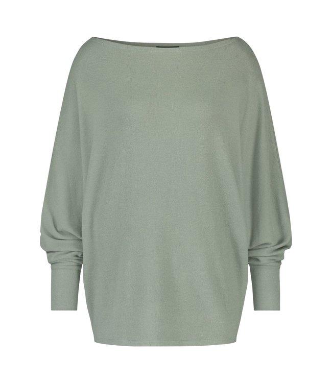 Juul&Belle pulljuul-olive shirt 80% vis 15%poly 5% elast