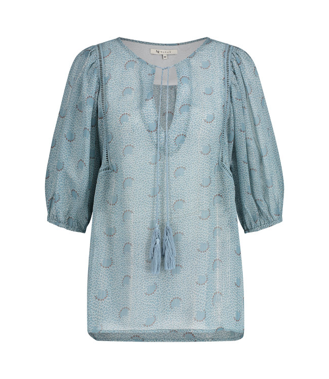 NUKUS SS2141127 Cecile Blouse Baby Blue