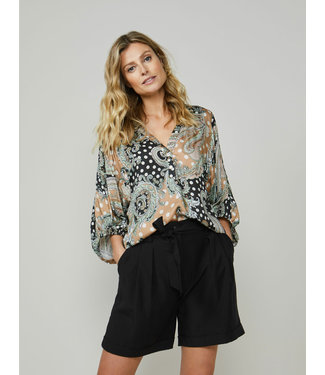 Summum Woman 2s2607-11441  Top Paisly and dots multicolour