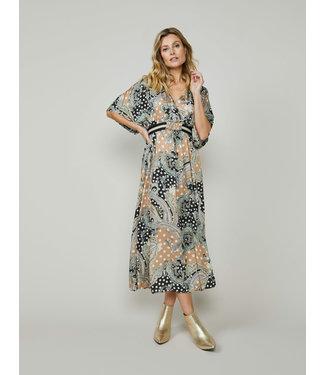 Summum Woman 5s1265-11441  Dress paisley and dots multicolour