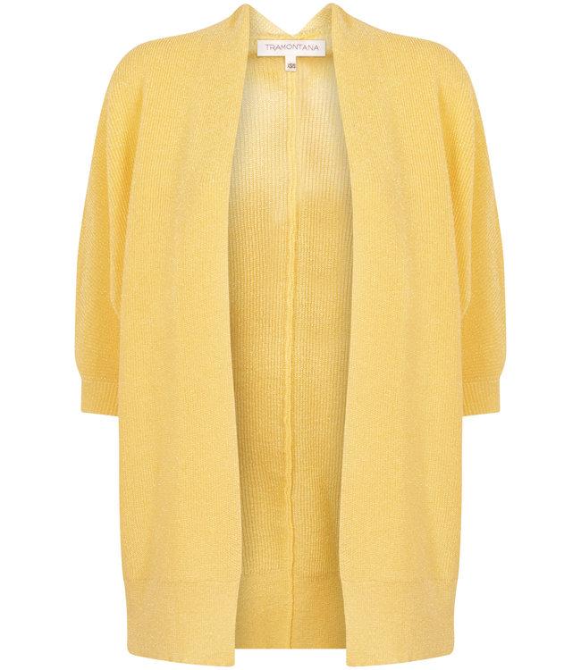 Tramontana Q11-99-701  Cardigam H/S lurex yellow