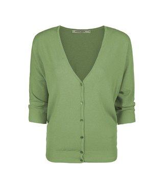 Summum Woman 7s5577-7827  Cardigan viscose blend knit  Soft green tea