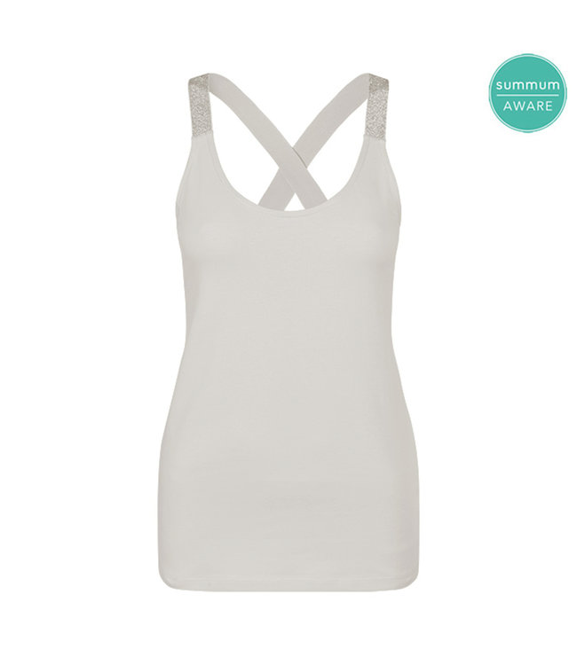 Summum Woman 3s4483-30241  Singlet crossband White