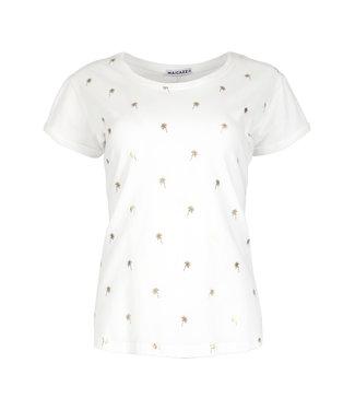 MAICAZZ SU21.75.001 TAZA T-shirt Offwhite-Gold
