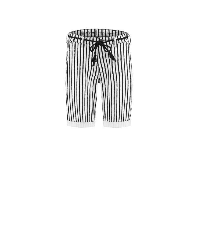 Para Mi SS212.138175 Zoe  Painted Stripes Black