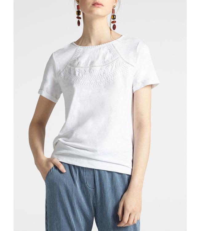 Sandwich 21101861  T-shirt SS pure white