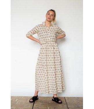 PENN&INK S21F889LTD  Dress OAP almond