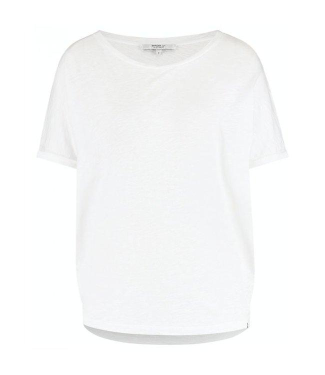 PENN&INK S21T609LTD  T-shirt White/black