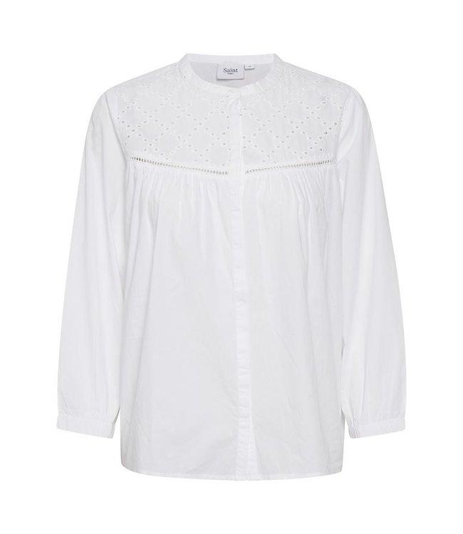 Saint Tropez 30511177  Glenia shirt Bright white