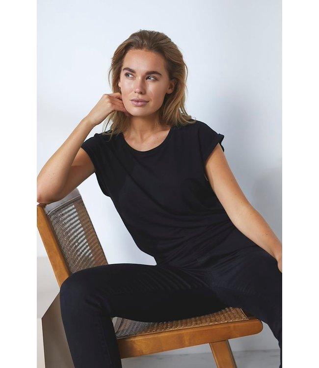 Saint Tropez 30501441  Adelia t-shirt Black