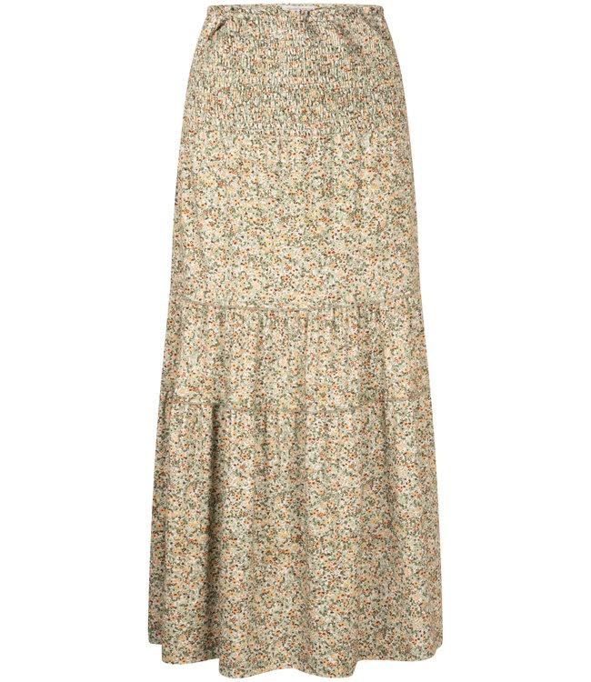 Tramontana D03-99-201  Skirt maxi petite fleur print  Greens