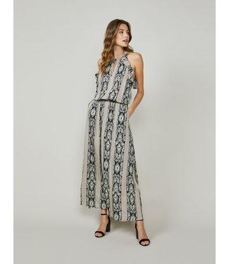 Summum Woman 5s1266-11445  Dress embroidered flower print