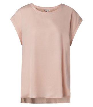 YAYA 1901116-115  Fabric mix top Rose